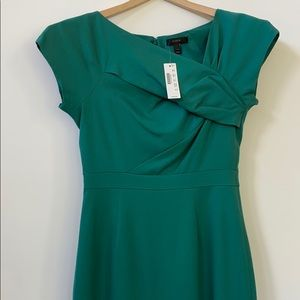 J Crew cocktail/party dress Emerald green